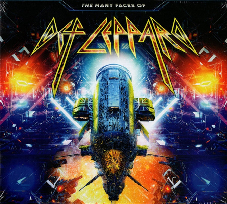 Many Faces Of Def Leppard   CD
