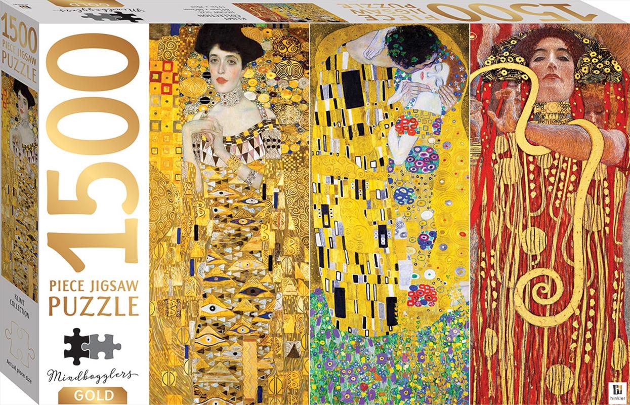 Mindbogglers Gold - Klimt Collection 1500 Piece Puzzle | Merchandise
