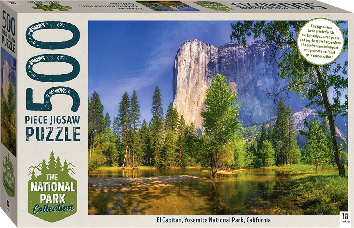 National Park Collection Jigsaw - Yosemite, California  500 Piece Puzzle | Merchandise
