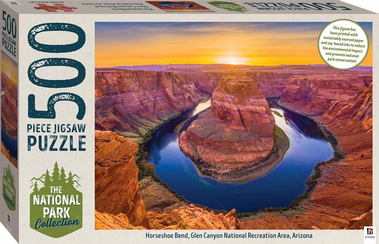 National Park Collection Jigsaw - Glen Canyon, Arizona 500 Piece Puzzle | Merchandise