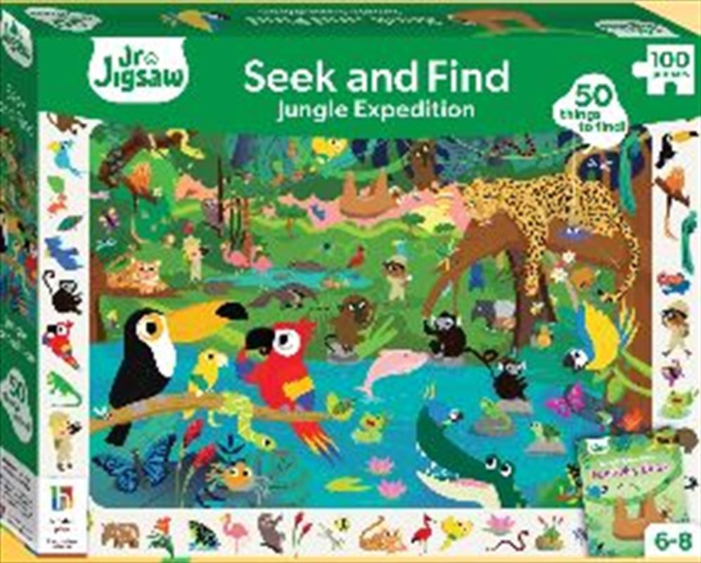 Jungle Adventure 100 Piece Puzzle | Merchandise