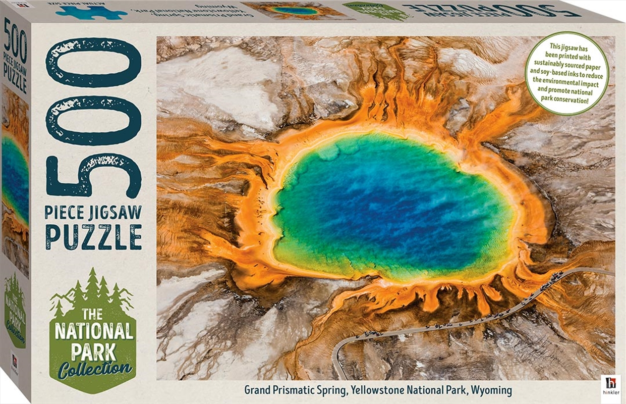 National Park Collection Jigsaw - Yellowstone, Wyoming  500 Piece Puzzle | Merchandise