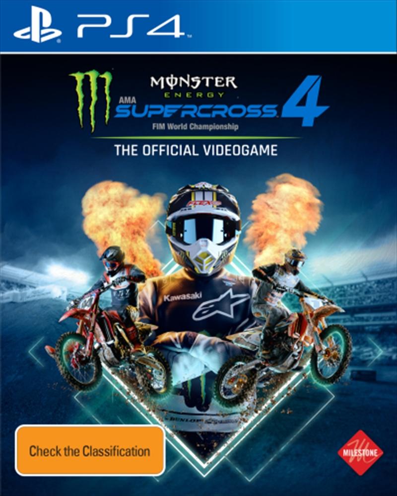 Monster Energy Supercross 4   PlayStation 4