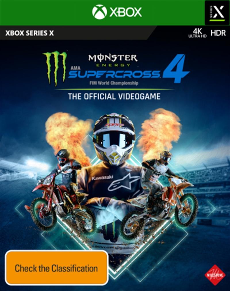 Monster Energy Supercross 4 | XBox