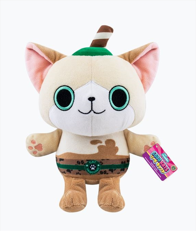 "Paka Paka - Cat Pawchino 7"" Plush 