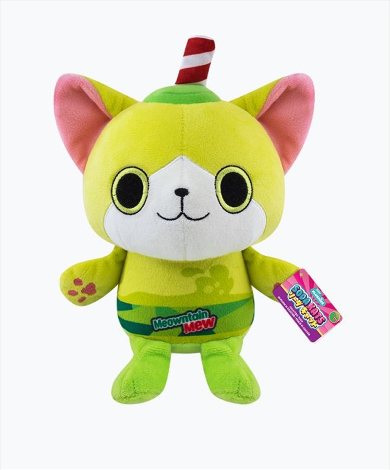 "Paka Paka - Meowntain Mew 7"" Plush 