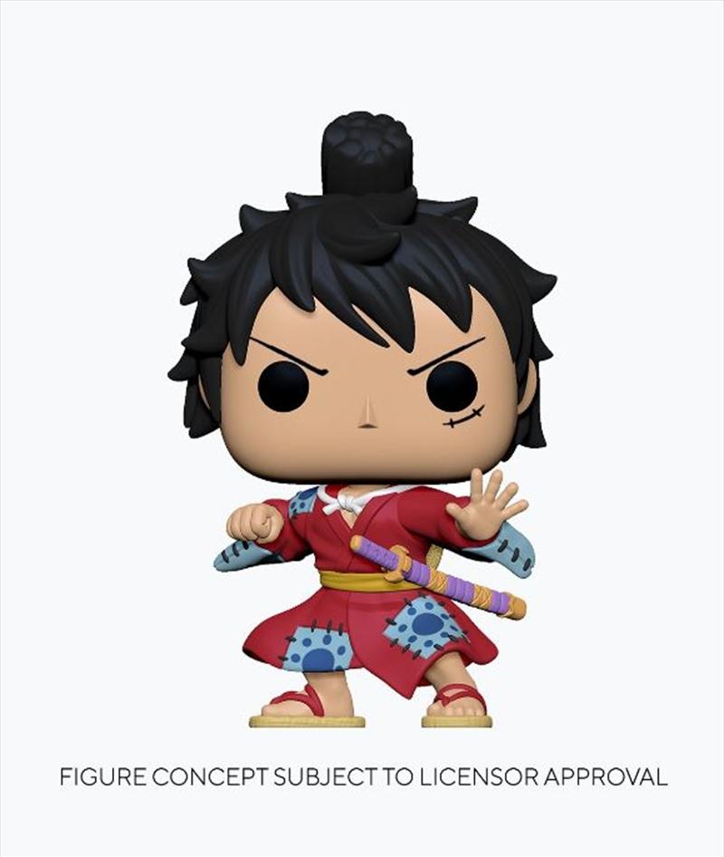One Piece - Luffy in Kimono Pop! Vinyl | Pop Vinyl