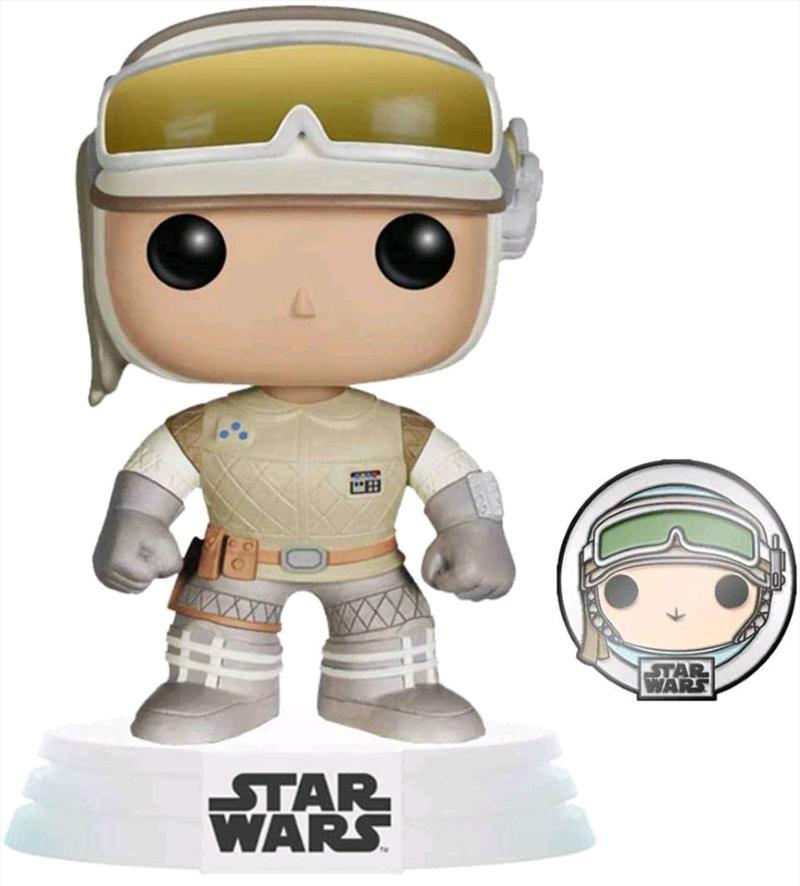 Star Wars: Across the Galaxy - Luke Skywalker Hoth US Exclusive Pop! Vinyl with Pin [RS]   Pop Vinyl