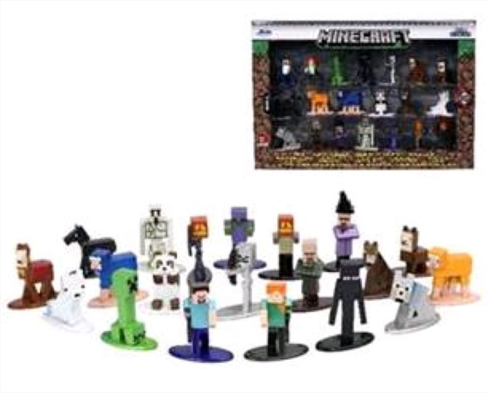 Minecraft - Nano Metalfigs 20-pack wave 05   Merchandise