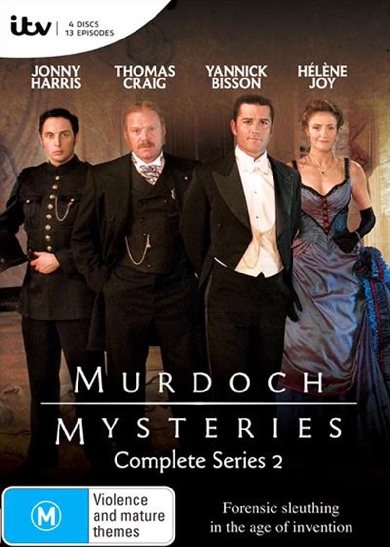Murdoch Mysteries - Series 2 | DVD