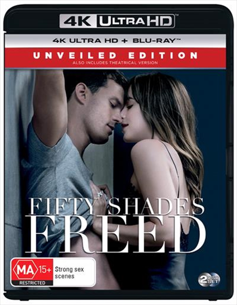 Fifty Shades Freed - Unveiled Edition   Blu-ray + UHD   UHD