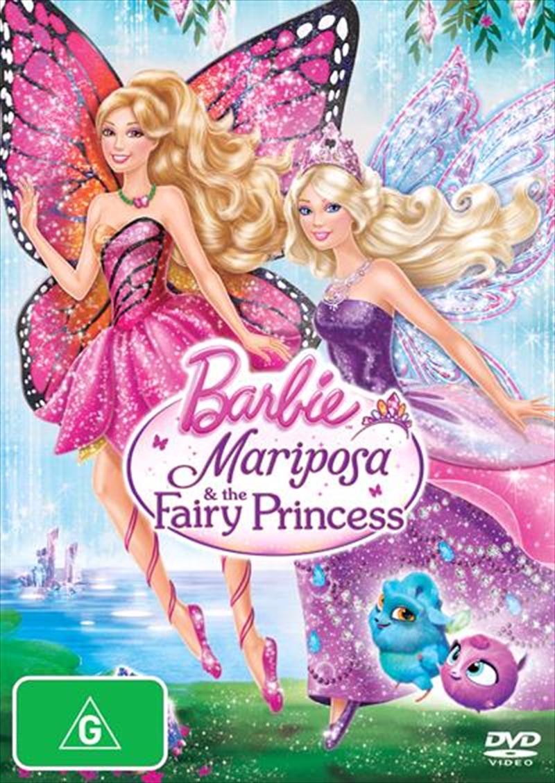 Barbie - Mariposa and The Fairy Princess | DVD