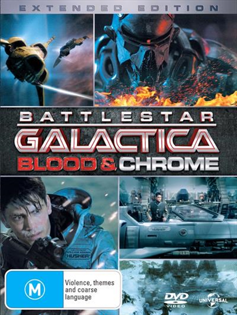 Battlestar Galactica - Blood And Chrome | DVD