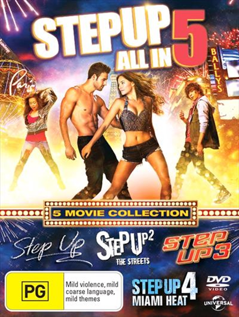 Step Up - 5 Movie Collection | DVD