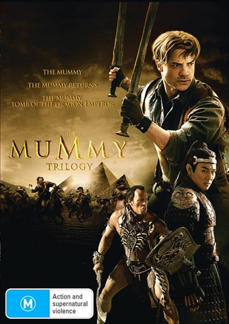 Mummy / The Mummy Returns / The Mummy - Tomb Of The Dragon Emperor, The | DVD