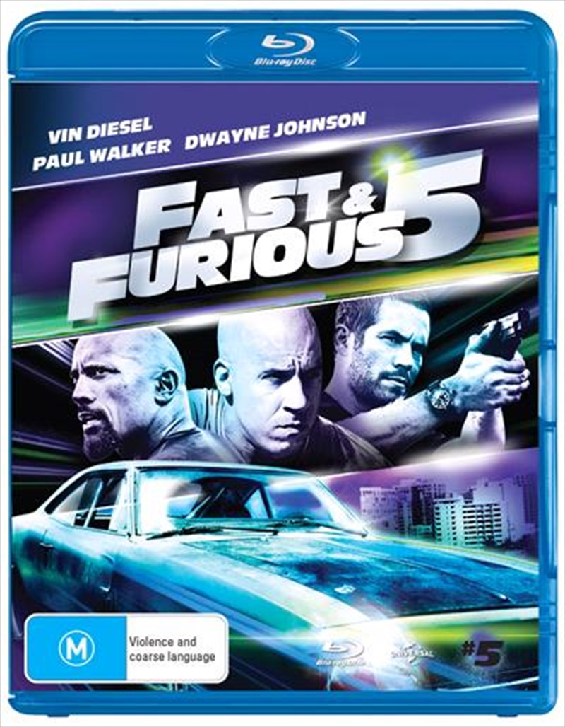 Fast and Furious 5 | Blu-ray