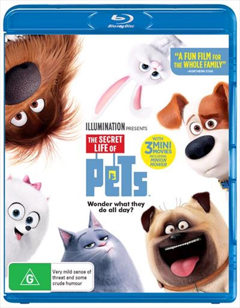Secret Life Of Pets, The | Blu-ray
