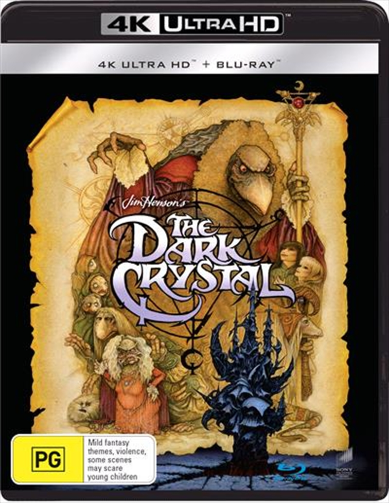 Dark Crystal   Blu-ray + UHD, The   UHD