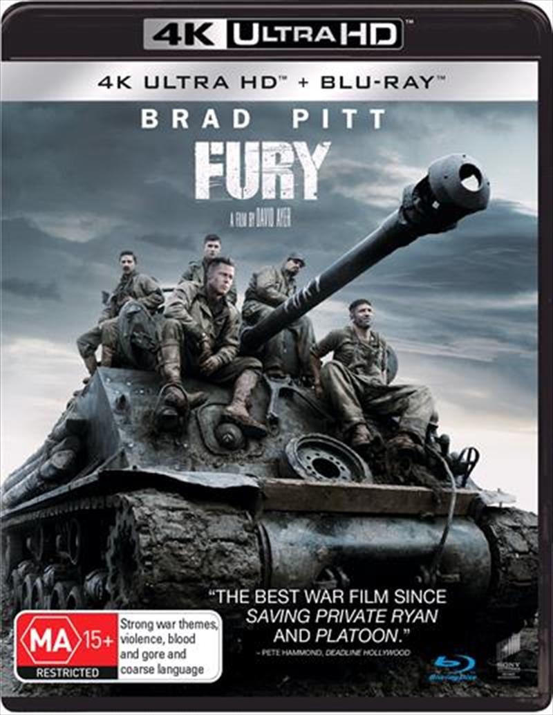 Fury | Blu-ray + UHD | UHD