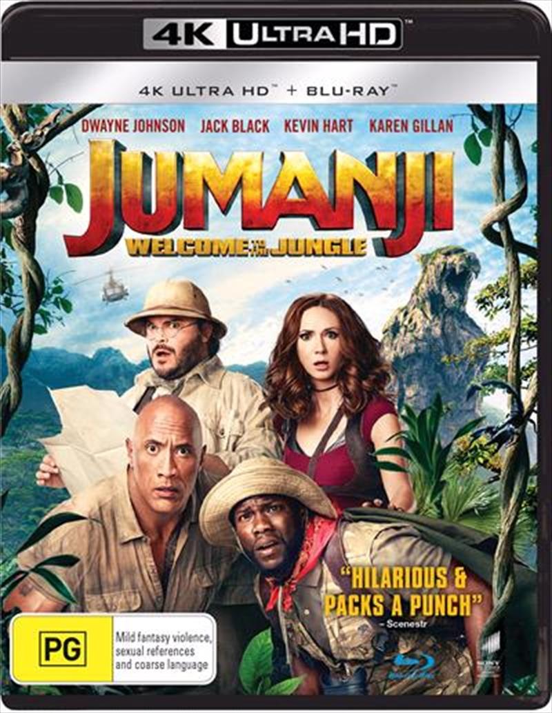 Jumanji - Welcome To The Jungle | Blu-ray + UHD | UHD