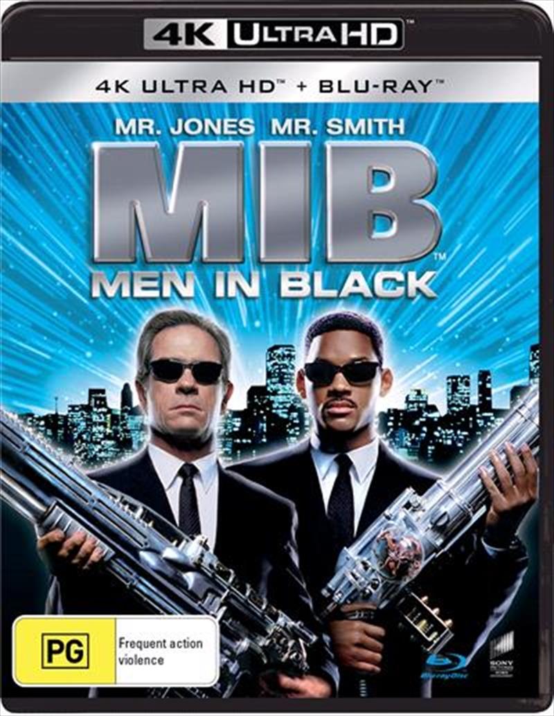 Men In Black   Blu-ray + UHD   UHD