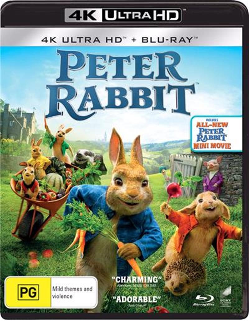 Peter Rabbit | Blu-ray + UHD | UHD