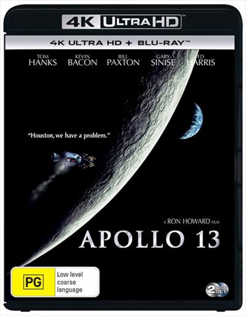 Apollo 13 | Blu-ray + UHD | UHD