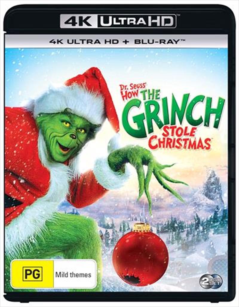How The Grinch Stole Christmas | Blu-ray + UHD | UHD