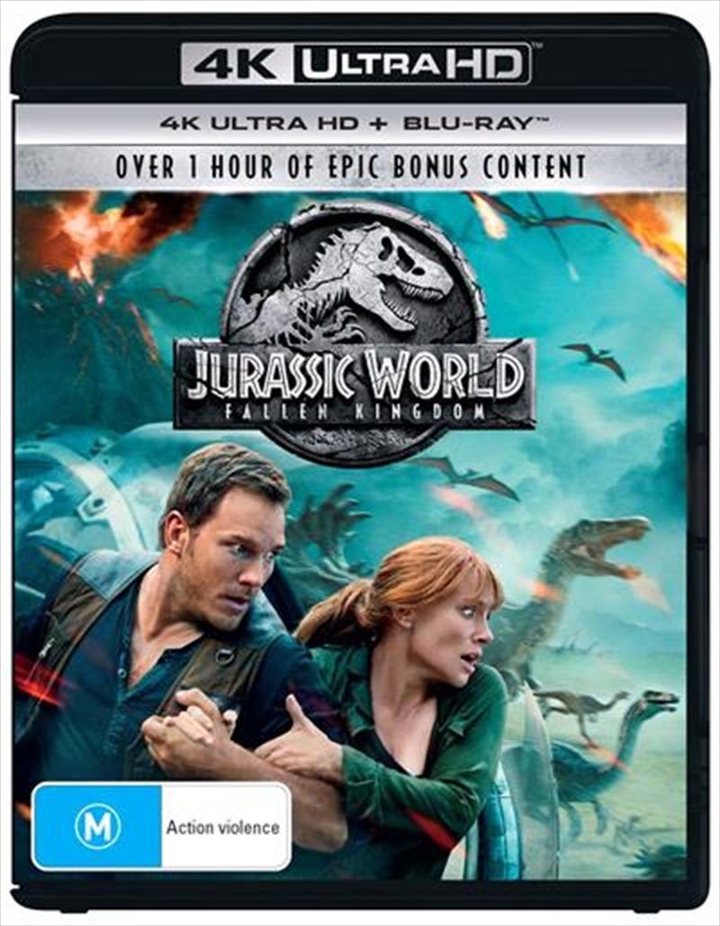 Jurassic World - Fallen Kingdom | Blu-ray + UHD | Blu-ray/Digital/Hd