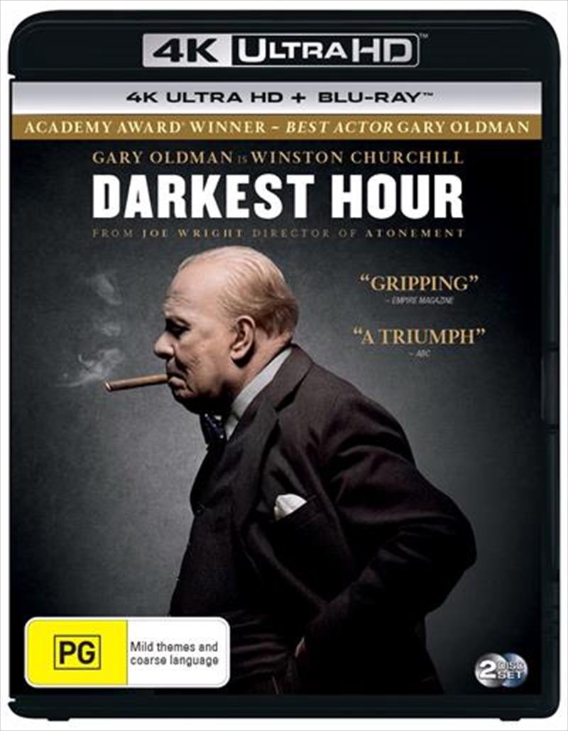 Darkest Hour | Blu-ray + UHD | UHD