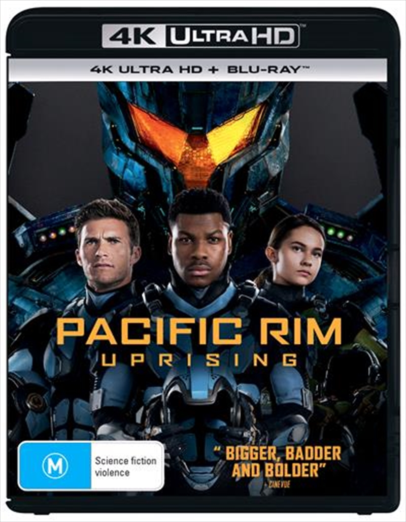 Pacific Rim - Uprising   Blu-ray + UHD   UHD
