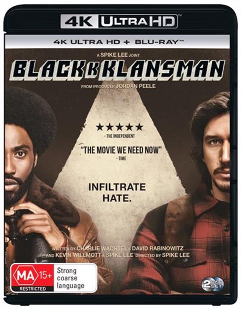 Blackkklansman | Blu-ray + UHD | UHD