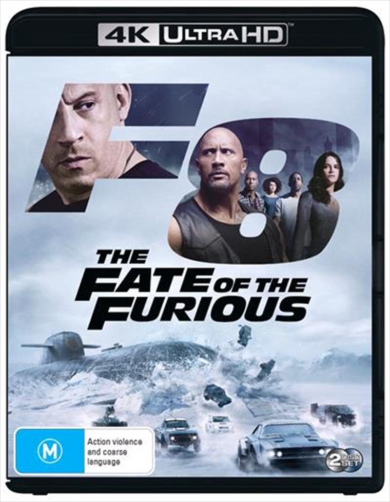 Fate Of The Furious | Blu-ray + UHD, The | UHD