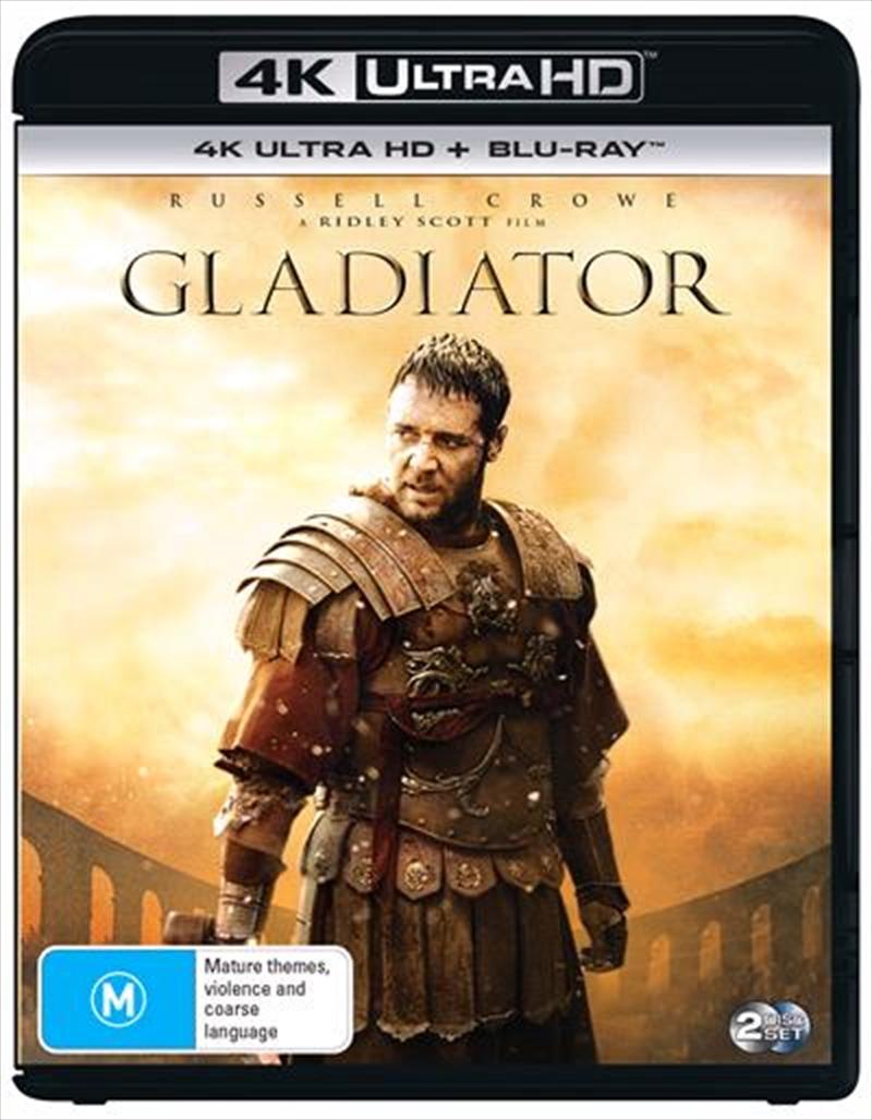 Gladiator | Blu-ray + UHD | UHD