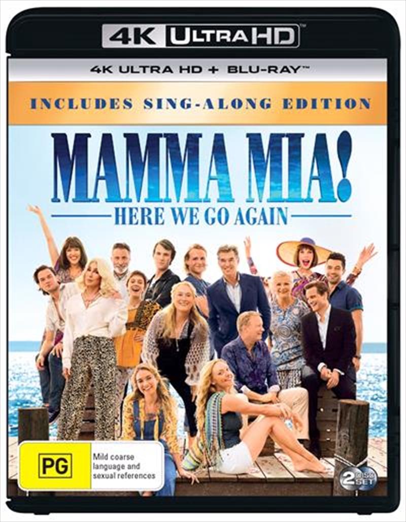 Mamma Mia - Here We Go Again!   Blu-ray + UHD   UHD