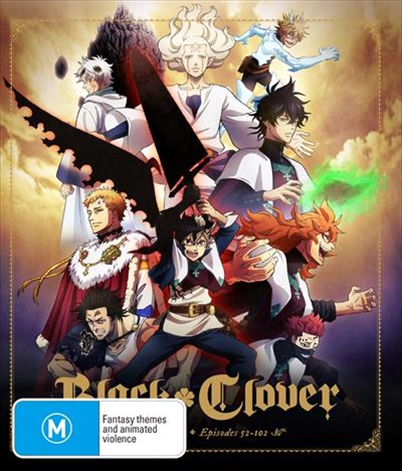 Black Clover - Season 2 - Eps 52-102   Blu-ray