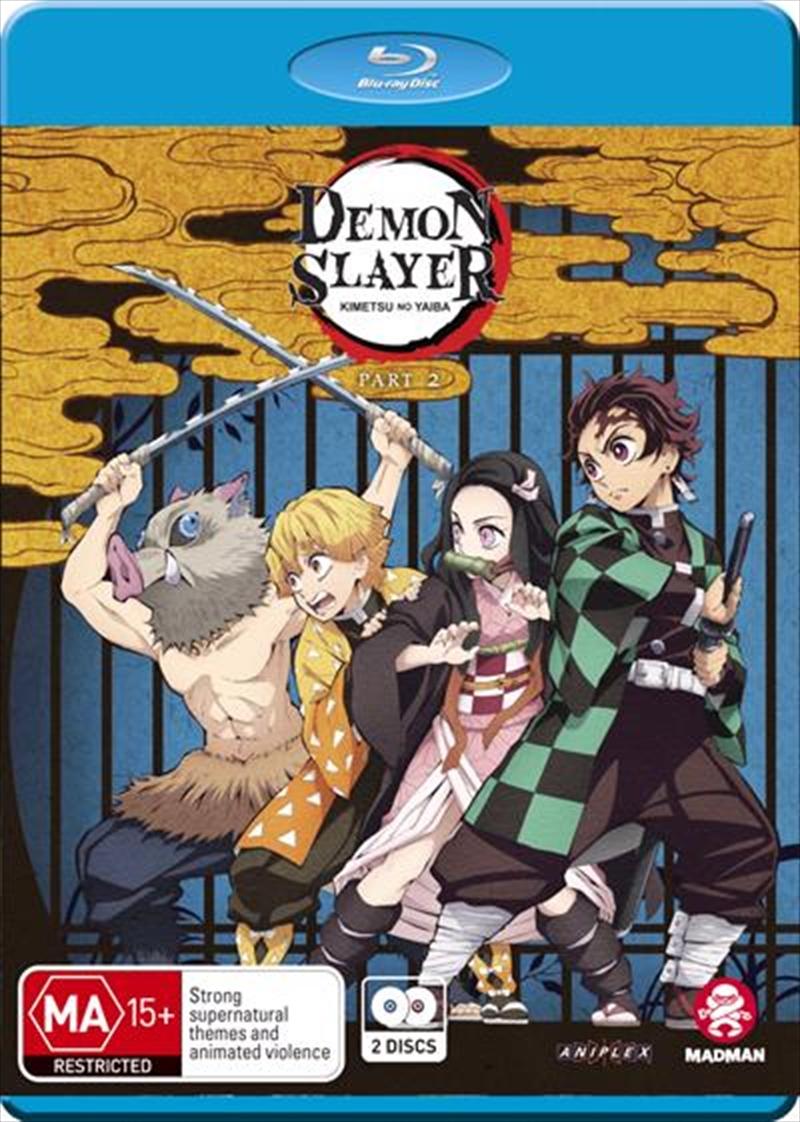 Demon Slayer - Kimetsu No Yaiba - Part 2 - Eps 14-26 | Blu-ray
