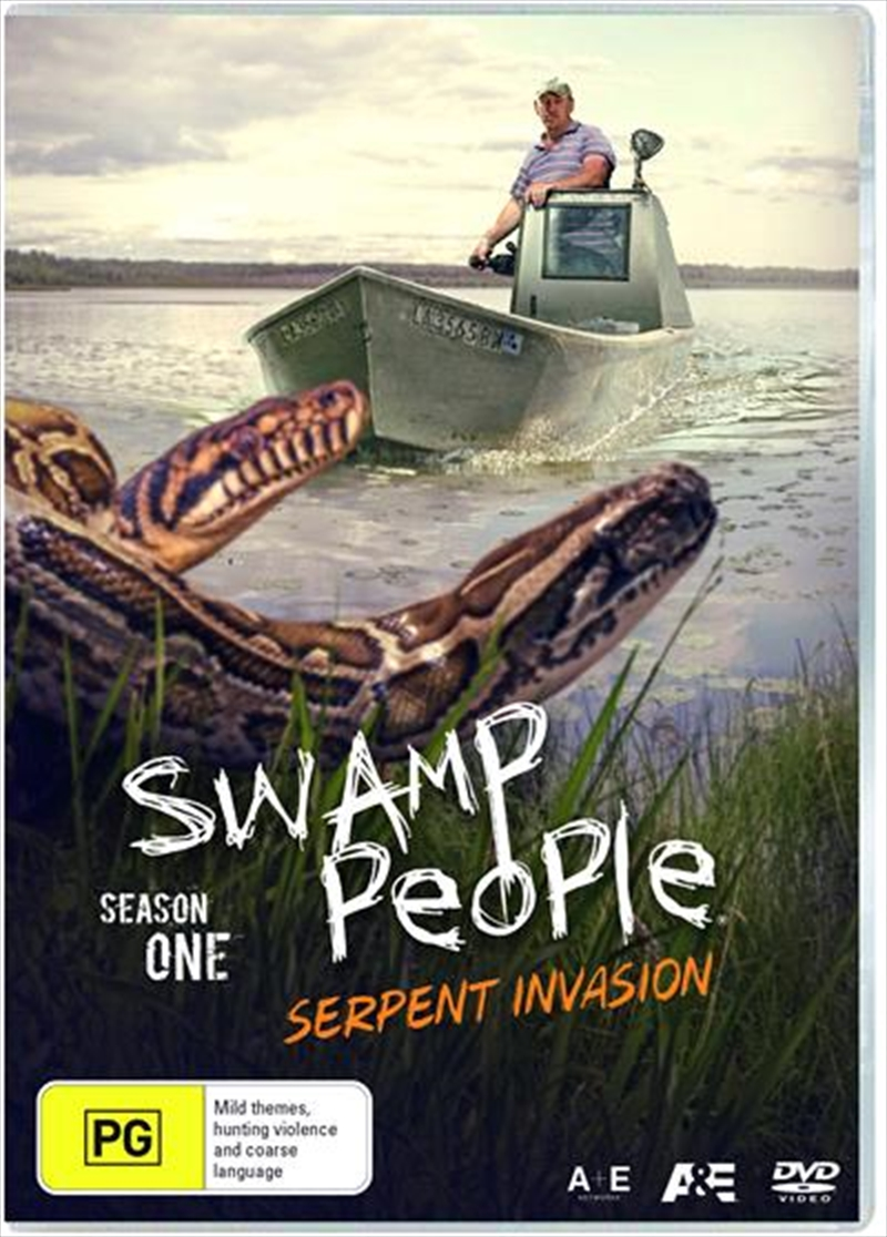 Swamp People - Serpent Invasion - Season 1 | DVD