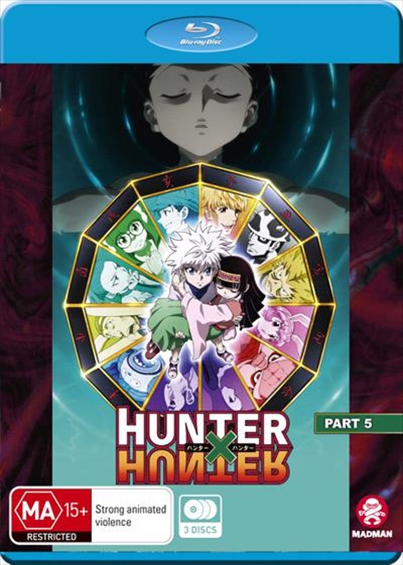 Hunter X Hunter - Part 5 - Eps 119-148 | Blu-ray