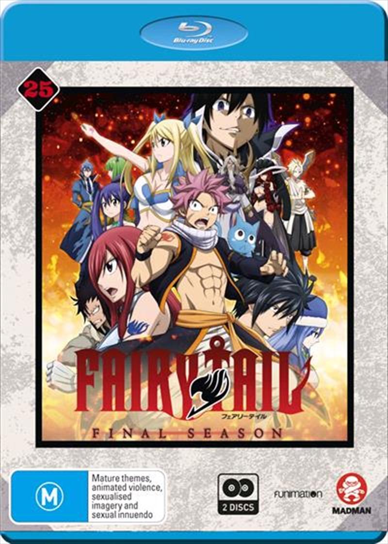 Fairy Tail - Collection 25 - Eps 304-316   Final Season   Blu-ray
