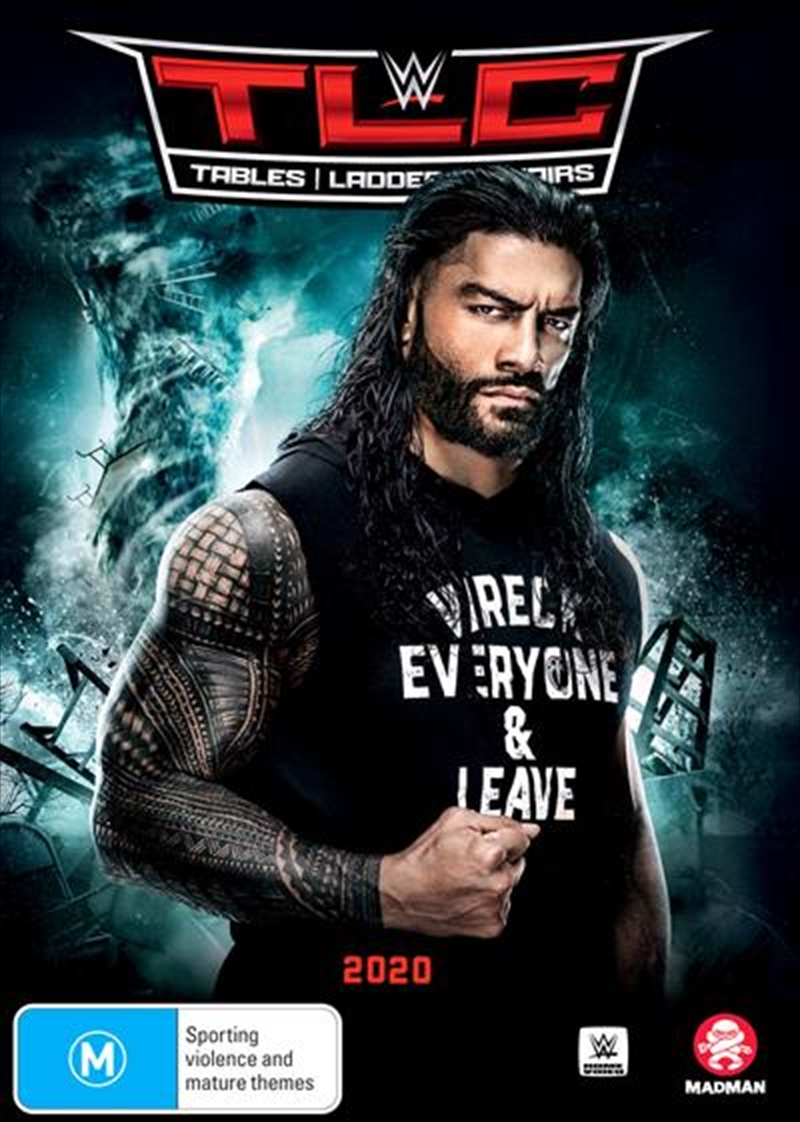 WWE - TLC - Tables, Ladders, Chairs 2020   DVD