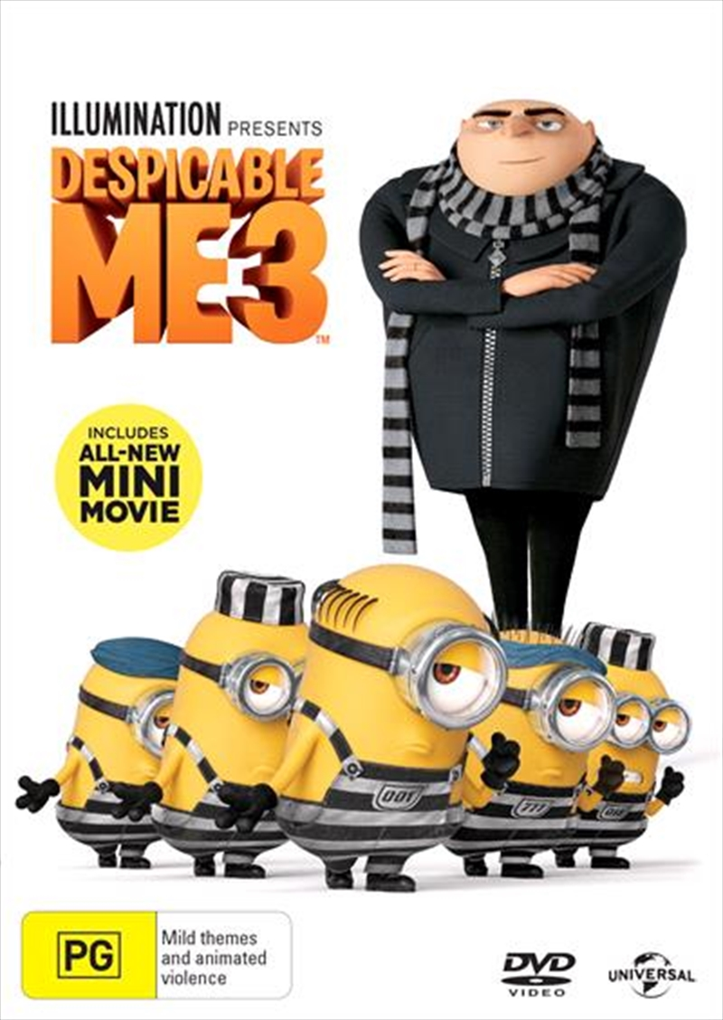 Despicable Me 3 | DVD