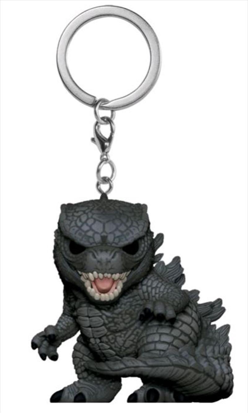 Godzilla vs Kong - Godzilla Pocket Pop! Keychain | Pop Vinyl