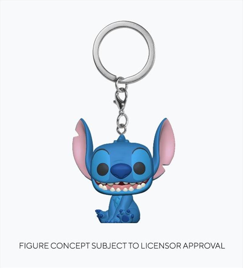 Lilo & Stitch - Stitch Pop! Keychain | Pop Vinyl