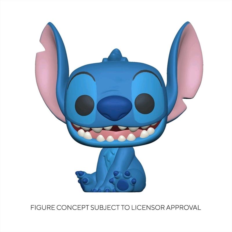 Lilo and Stitch - Stitch Smiling Seated Pop! Vinyl   Pop Vinyl