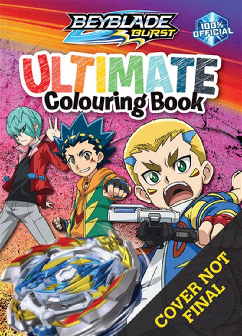 Beyblade Burst - Ultimate Colouring Book | Paperback Book