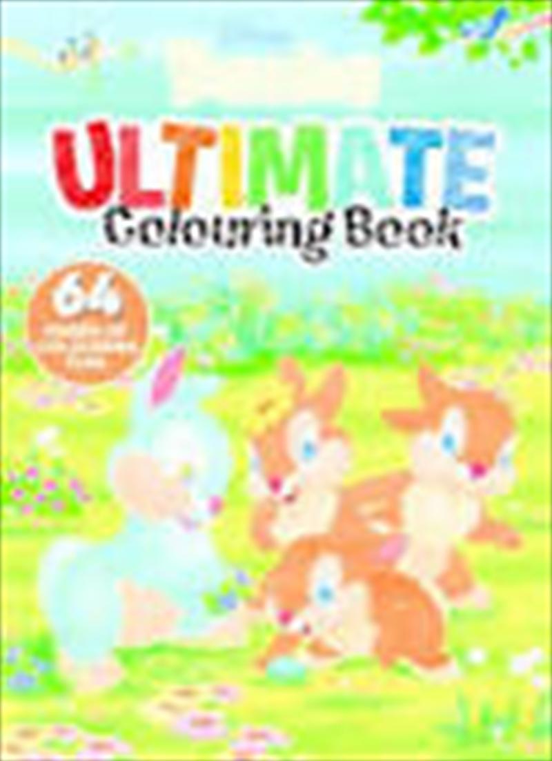 Disney Bunnies - Ultimate Colouring Book | Paperback Book