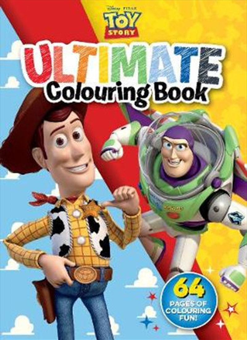 Toy Story - Ultimate Colouring Book | Paperback Book