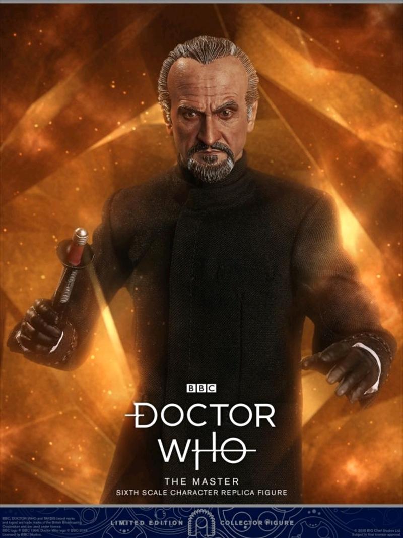 "Dr Who - The Master (Roger Delgardo) 1:6 Scale 12"" Action Figure | Merchandise"