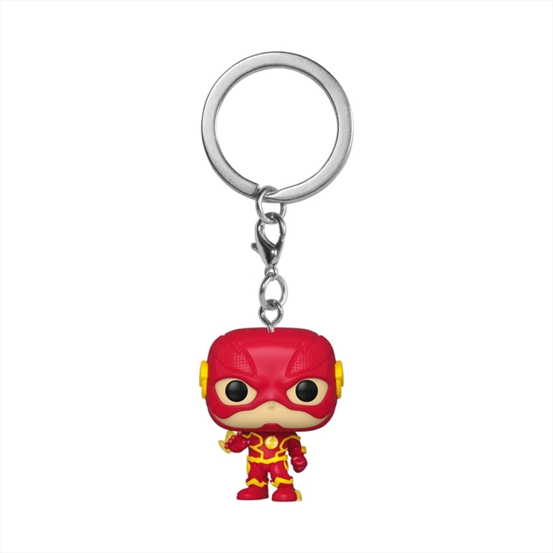 The Flash - Flash Pocket Pop! Keychain | Pop Vinyl
